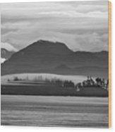 Along The Inland Passage Wood Print