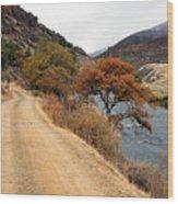 Along The Kalamath - Oregon Wood Print