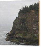 Along The Oregon Coast - 6 Wood Print