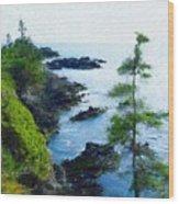 Along The West Coast 1 Wood Print