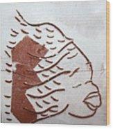 Aloud - Tile Wood Print