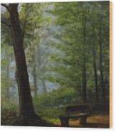 Alpha And Omega Wood Print