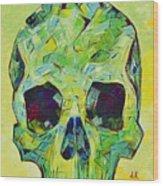 Alpha Skull Wood Print
