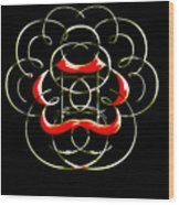 Alphabet Art4 Wood Print