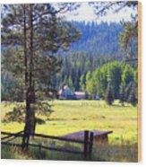 Alpine Arizona Wood Print