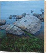 Alpine Atmosphere Wood Print