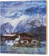 Alpine Bliss Wood Print
