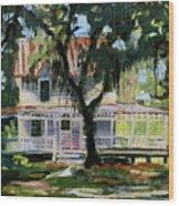 Alpine Grove Farmhouse Wood Print