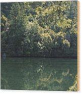 Alpine Lake Wood Print