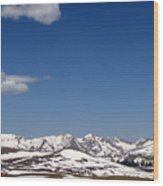 Alpine Tundra Series Wood Print