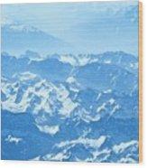 Alps Iv Wood Print