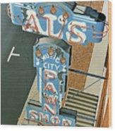 Al's  Wood Print