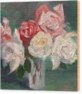 Altadena Roses Wood Print