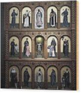 Altar Screen Cathedral Basilica Of St Francis Of Assisi Santa Fe Nm Wood Print