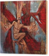 Alter Ego Wood Print