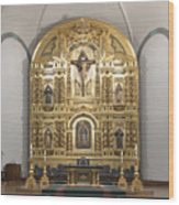 Alter San Juan Capistrano Wood Print