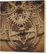 Alternate History Wood Print