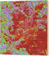 Alternating Currents 4 Wood Print