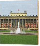 Altes Museum In Berlin Wood Print