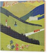 Alto Adige South Tyrol Wood Print