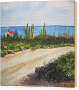 Alto Vista Chapel Wood Print by Shirley Braithwaite Hunt