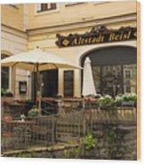 Altstadt Beisl Wood Print