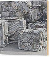 Aluminum Recycling Wood Print