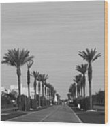Alys Beach Entrance Wood Print