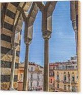 Amalfi Arches Wood Print