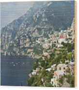 Amalfi Coast II Wood Print
