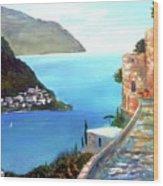 Amalfi gem Wood Print