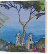 Amalfi Italy Color Wood Print