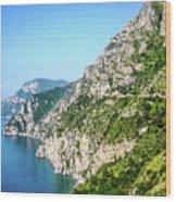 Amalfi Splendor Wood Print
