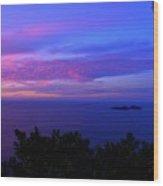 Amalfi Sunrise Wood Print