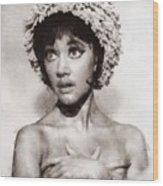 Amanda Barrie, Carry On Actress Wood Print