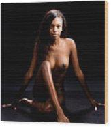 Amani African American Nude Sensual Sexy Fine Art Print 4996.02 Wood Print