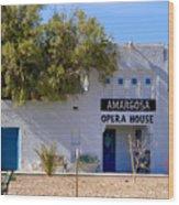 Amargosa Opera House Wood Print