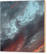 Amazing Clouds Wood Print