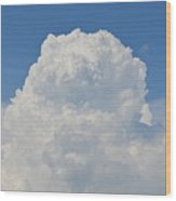 Amazing Cumulus Wood Print