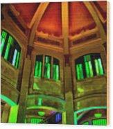 Amazing Dome Wood Print