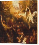 Amazing Jesus Resurrection Wood Print