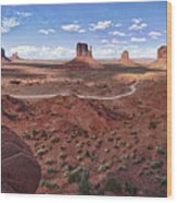 Amazing Monument Valley Wood Print