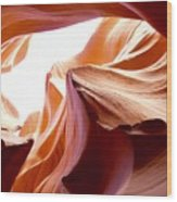 Amazing Rock Formations Wood Print