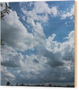 Amazing Sky Wood Print