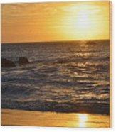 Amazing Sunset 230 Wood Print