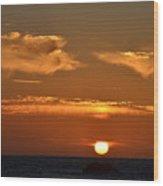 Amazing Sunset 251 Wood Print