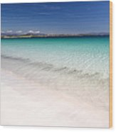 Amazingly Clear Water Of Dog's Bay Roundstone Ireland Wood Print