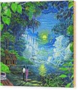 Amazonica Romantica Wood Print