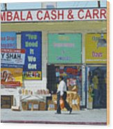 Ambala Cash And Carry Wood Print