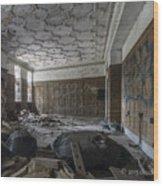 Ambassador Apartments May 11 2015 002 Wood Print